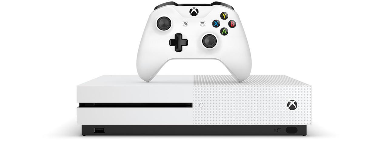 4. Microsoft Xbox One S