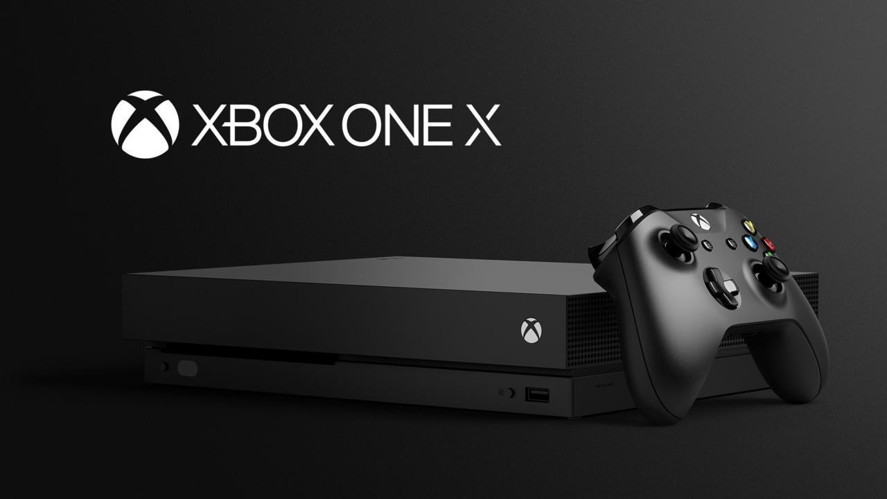 1. Microsoft Xbox One X