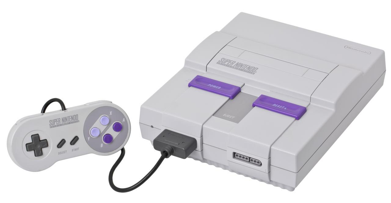 13. Super Nintendo Entertainment System