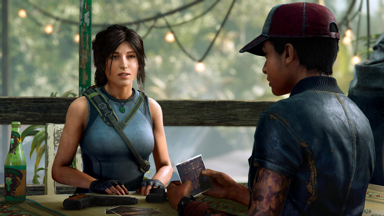 Lara's going to have to work with the locals to raid tombs and hunt Trinity down.