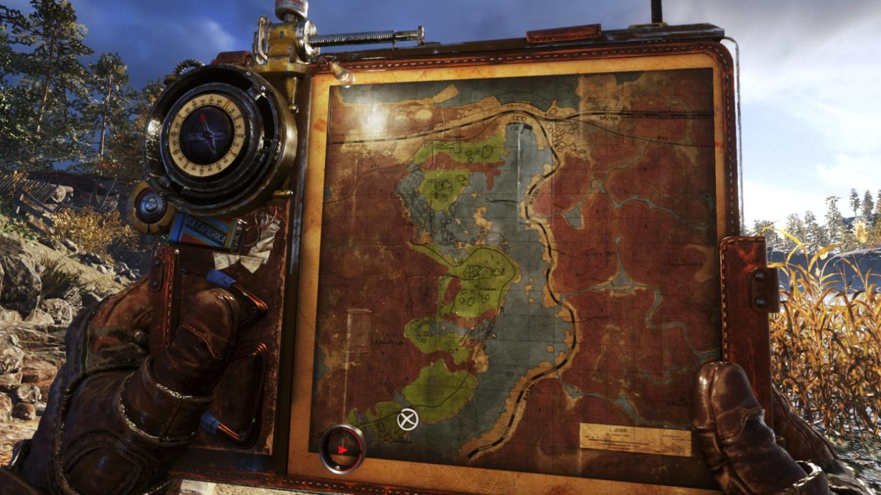 The way the map works in Metro Exodus is a nice touch.