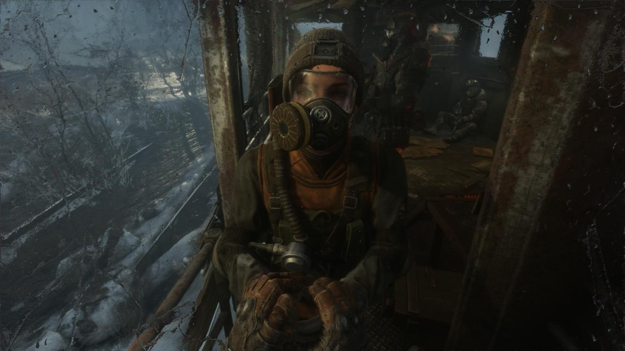 Anna is one of the several great characters in Metro Exodus' story.
