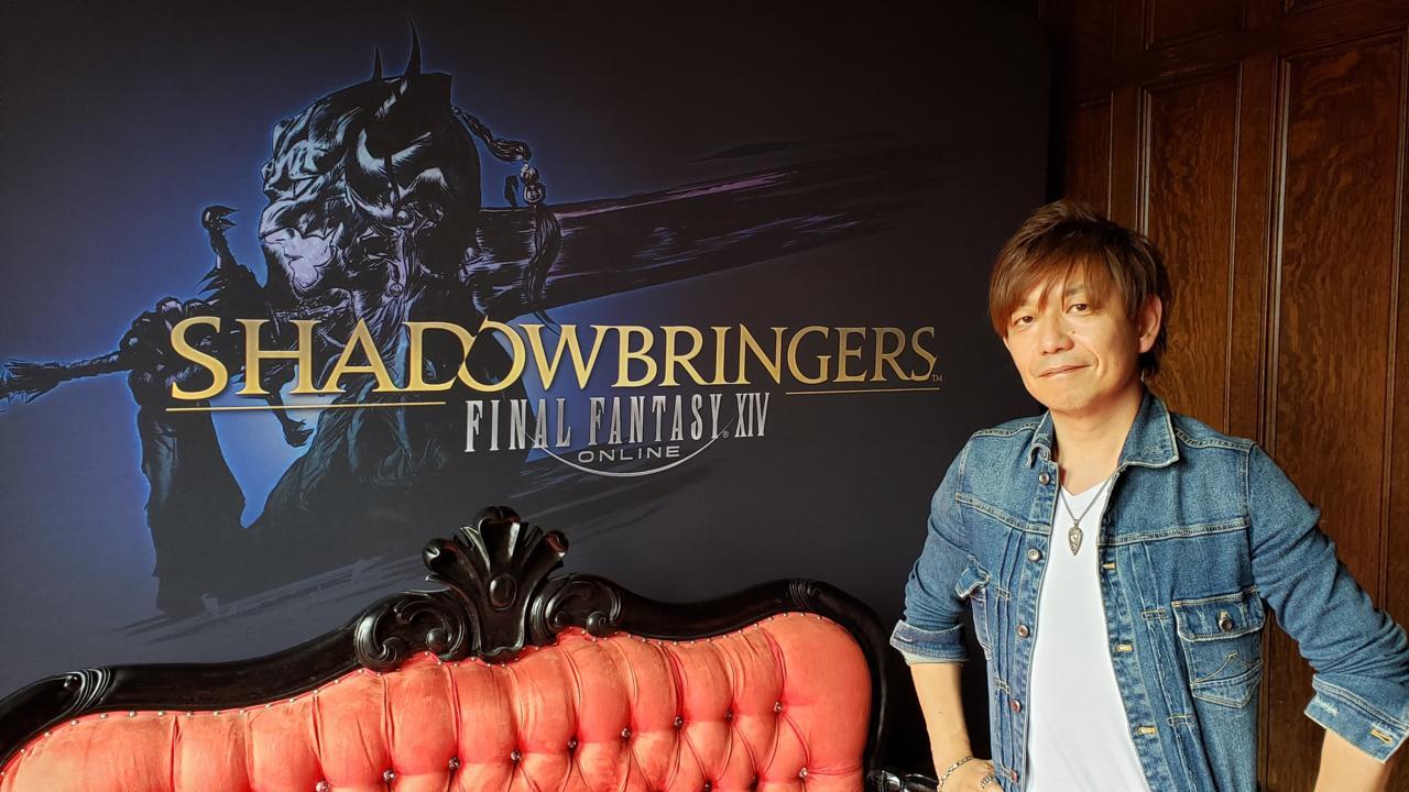 FFXIV director and producer Naoki Yoshida.