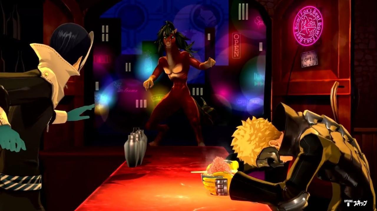 Ryuji And Yusuke Have An Equally Ridiculous Partner Attack