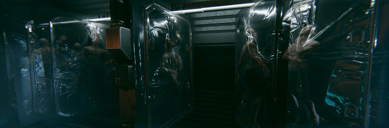 A horrifying atmosphere is a strong part of the series, and it looks like System Shock 3 follows.
