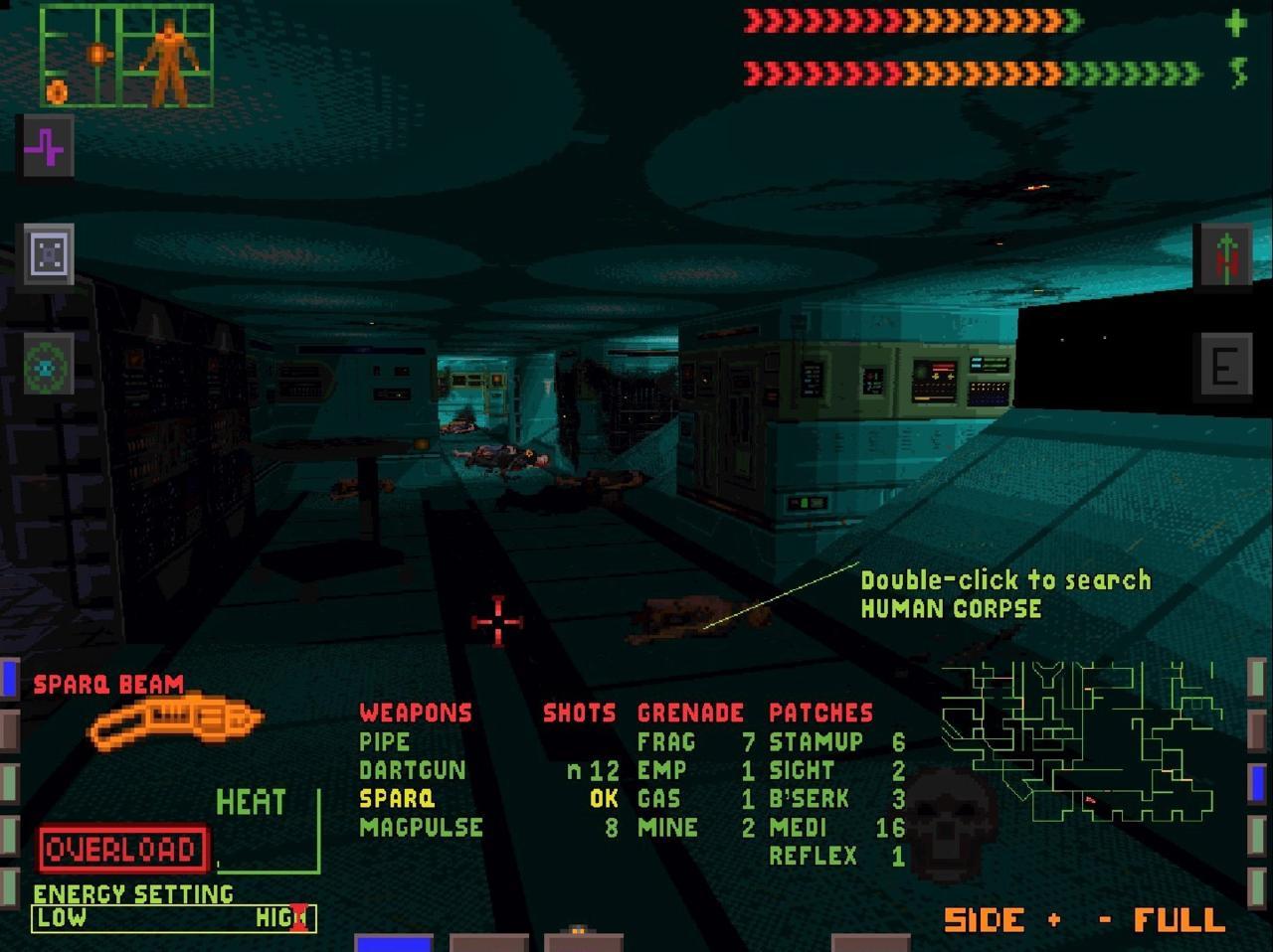 The original System Shock (1994).