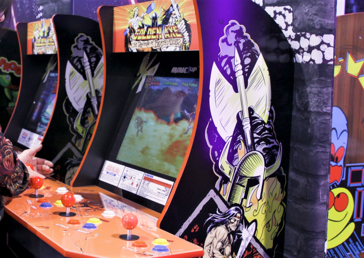 Golden Axe cabinet from Arcade1Up