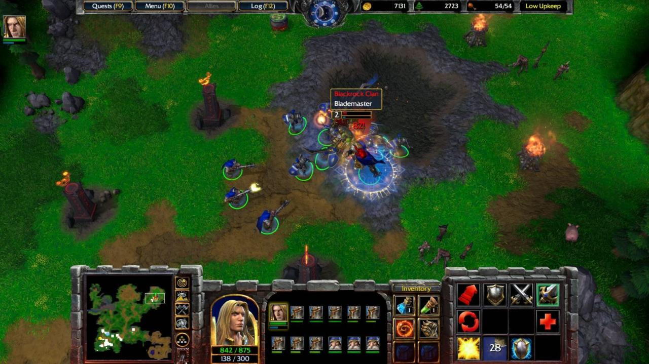Warcraft 3's gameplay holds up well in 2020.