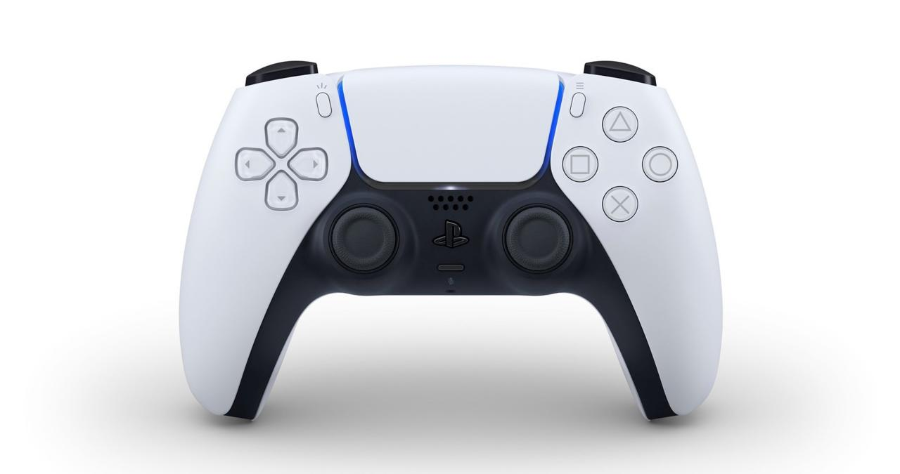 The PS5's DualSense controller.