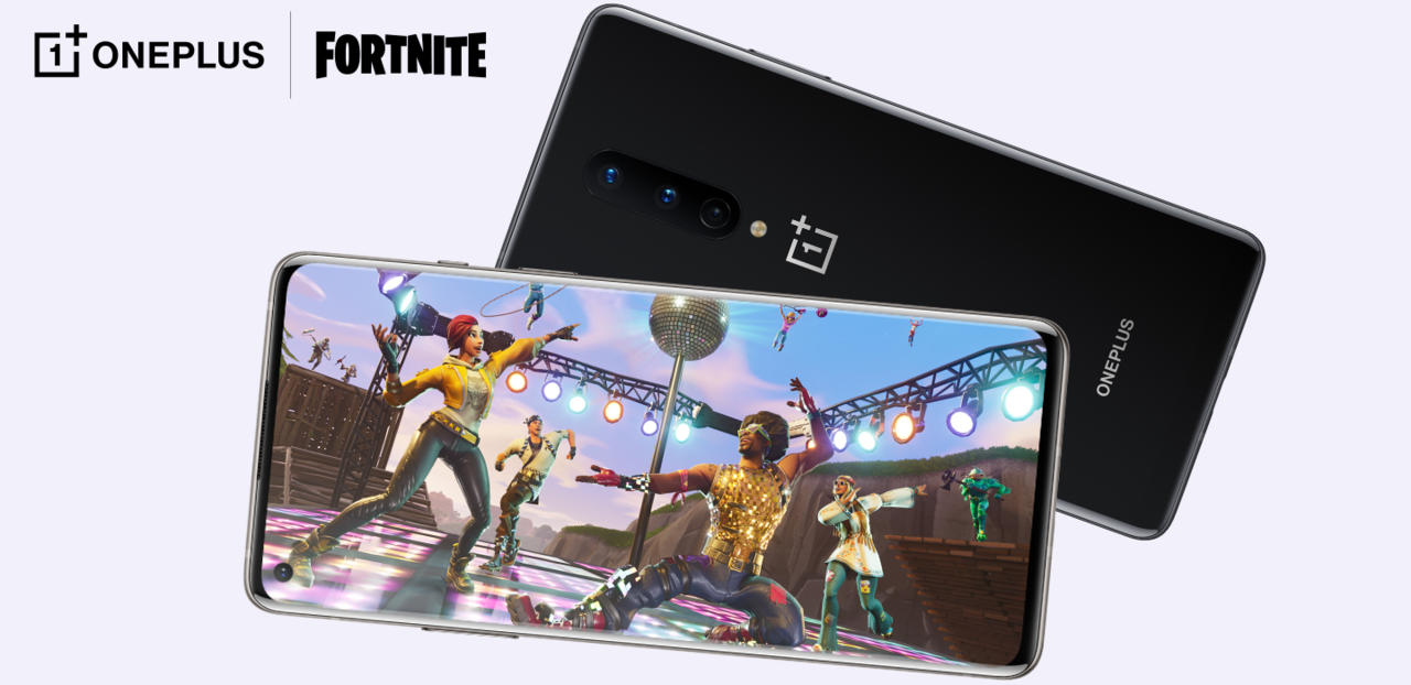 Epic Games partnered with OnePlus directly to bring this specific 90 FPS build of Fortnite to the OnePlus 8 series.