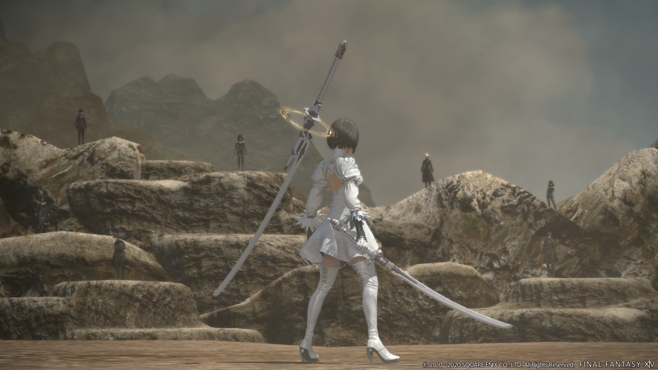 Patch 5.3 continues the YoRHa: Dark Apocalypse raid series and story of 2P.