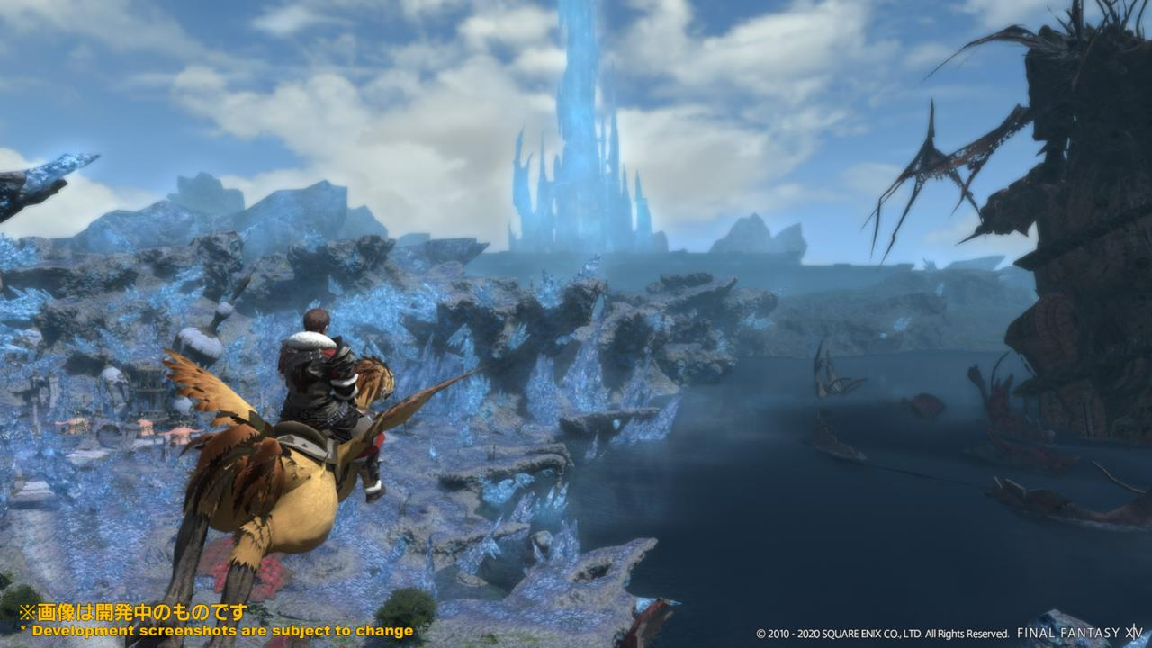 A Realm Reborn will feature a streamlined main quest and the ability to fly in old zones.