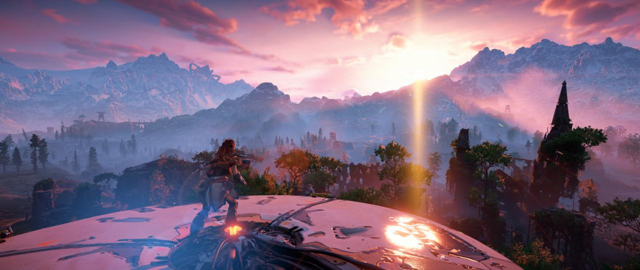 The natural environments of Horizon Zero Dawn are quite stunning, and you'll spend a lot of time in Photo Mode.