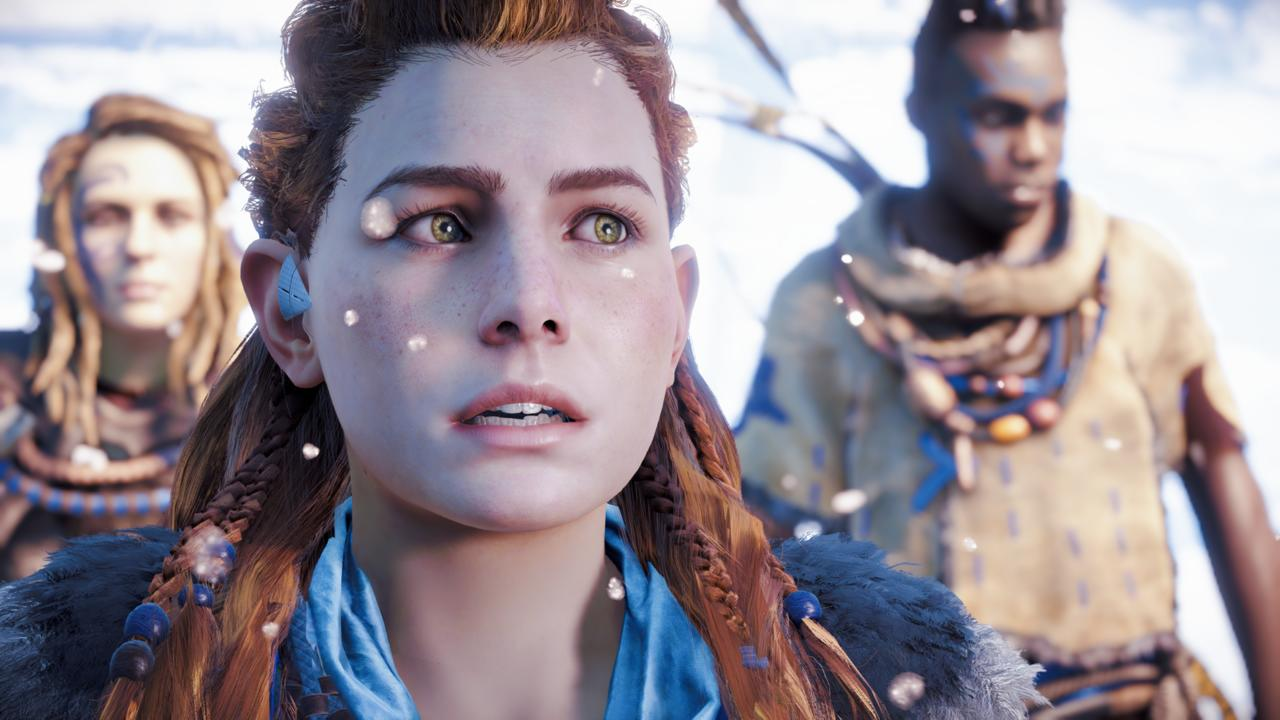 Our stoic protagonist, Aloy, has a complicated past, and Ashly Burch delivers a great voice performance.