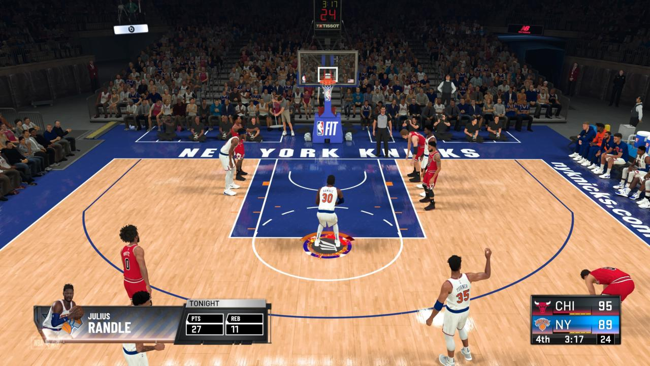 Solid moment-to-moment basketball is still a highlight of NBA 2K21.
