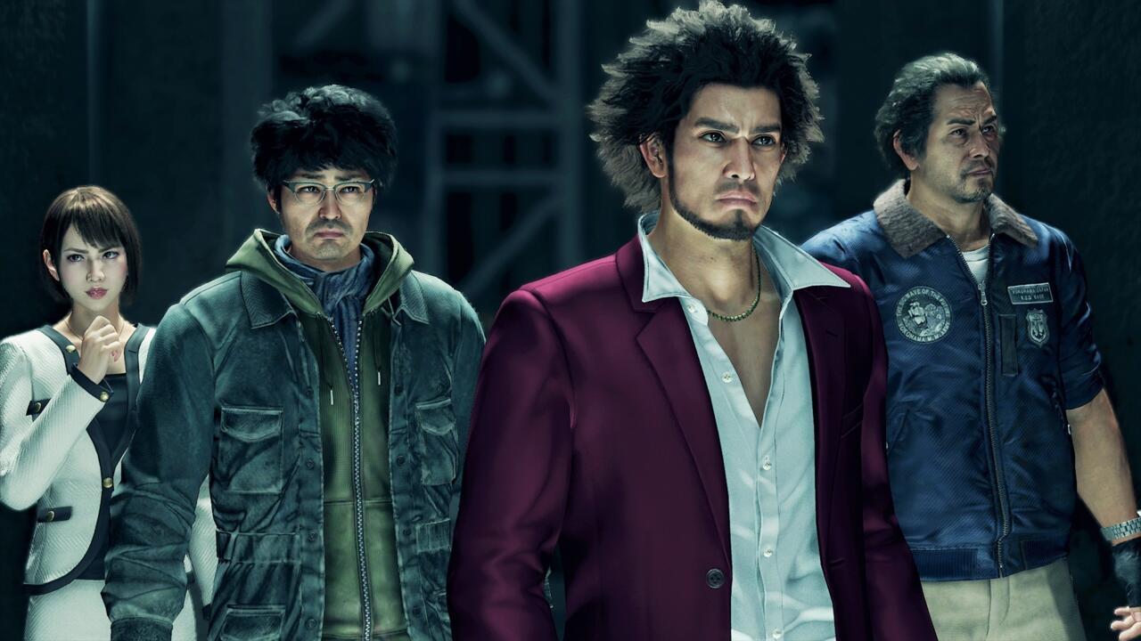 Saeko, Nanba, Kasuga, and Adachi band together for Yakuza: Like A Dragon's wild ride.
