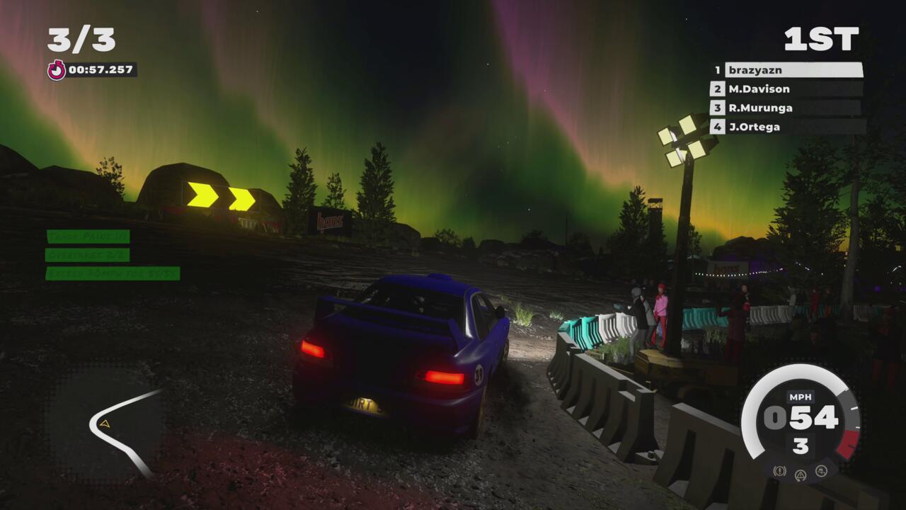 Aurora Borealis, at this time of year?