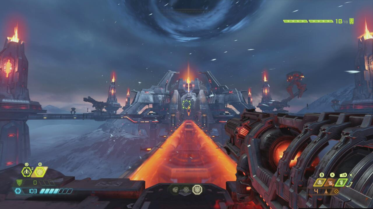 For now, Doom Eternal is limited to its Xbox One resolution when running on the Series S.
