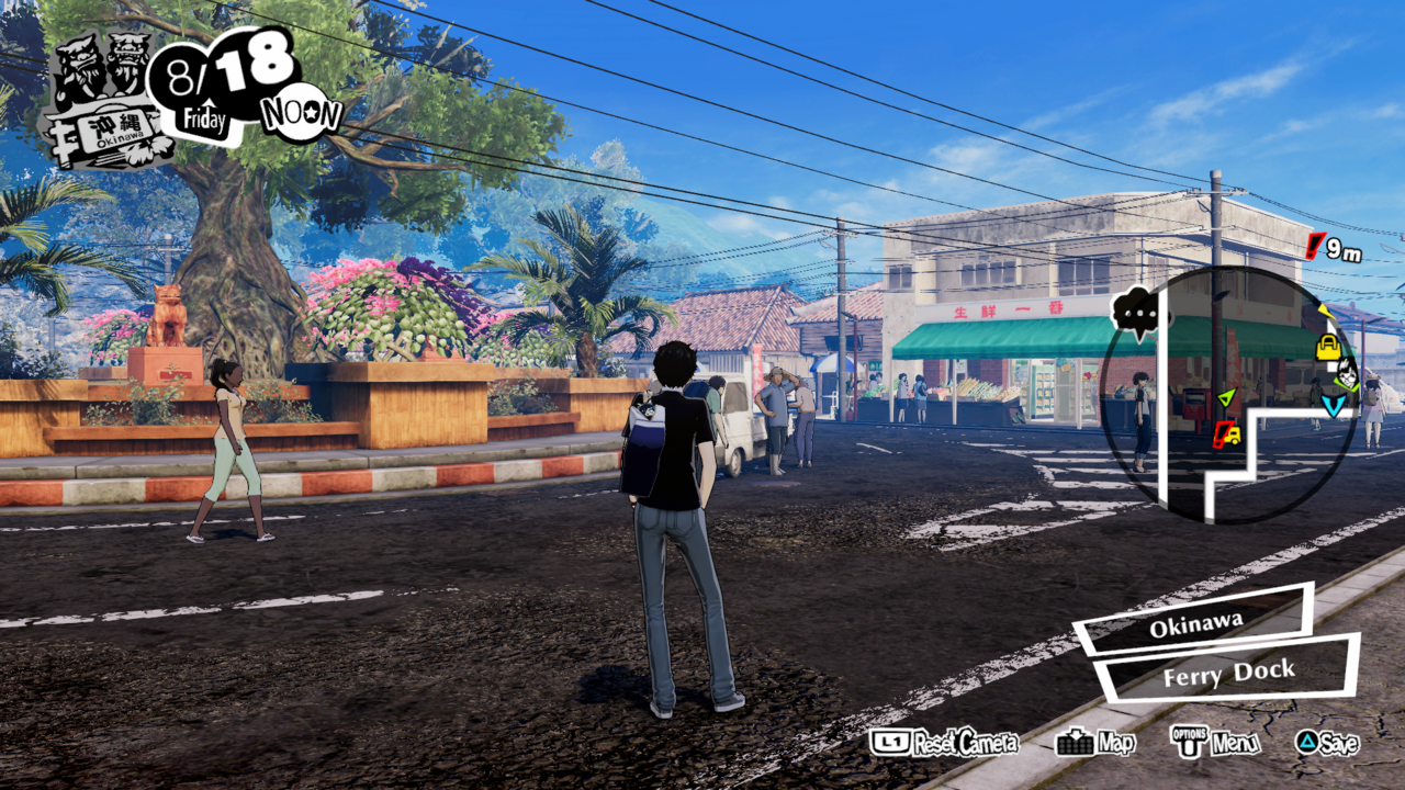 You'll be able to spend time in new locations like Okinawa in Persona 5 Strikers.