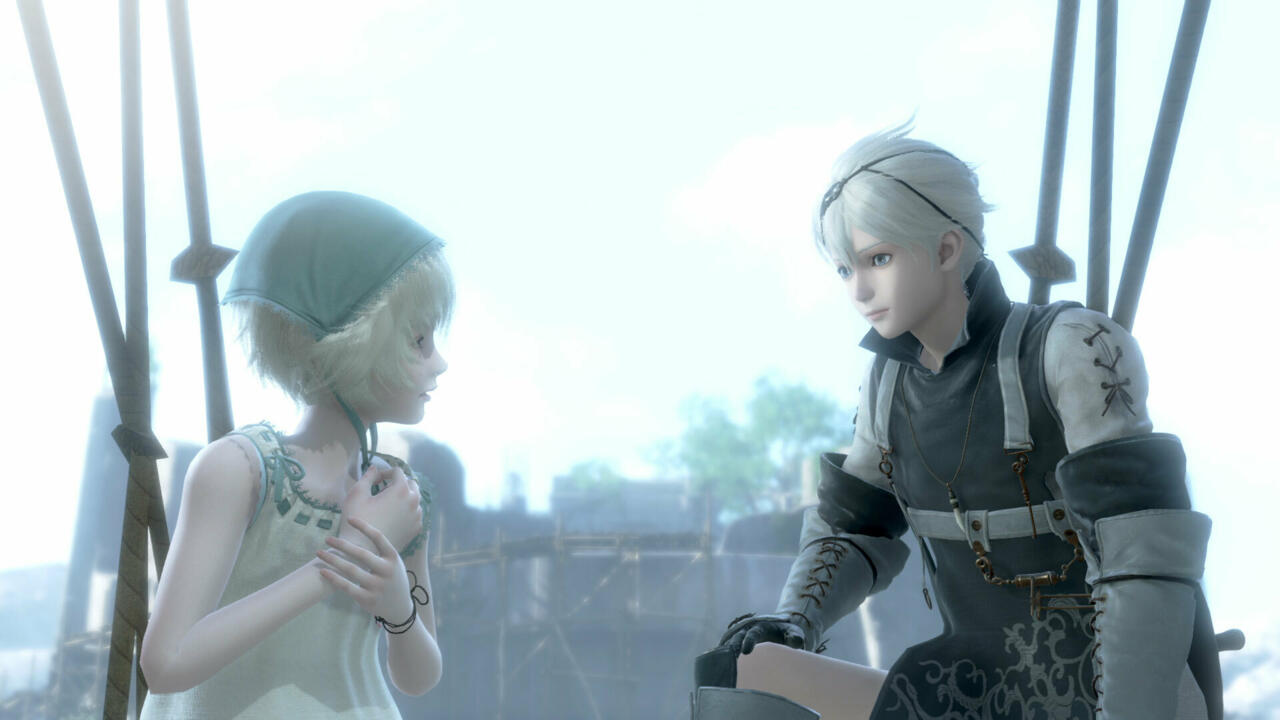 Like Father Nier, Brother Nier will do whatever it takes to save Yonah.