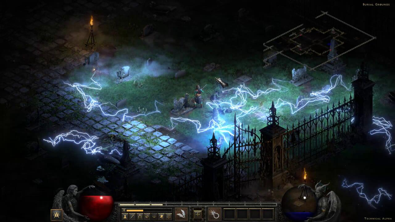 It'll take a while to get back up to speed with Diablo 2 if you haven't played in a while.