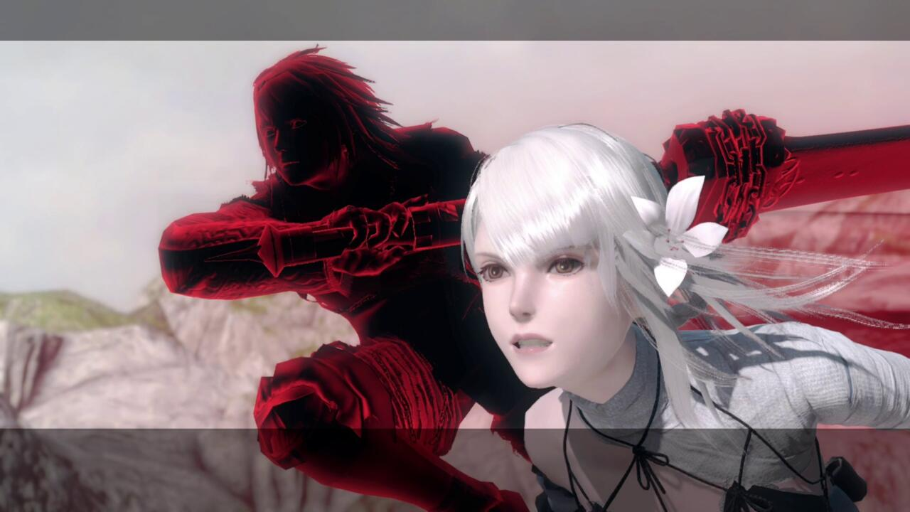 Cutscenes of fighting alongside Kainé are some of the best.