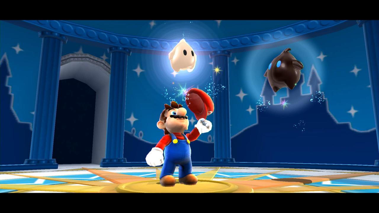 Super Mario Galaxy captured on Nintendo Switch