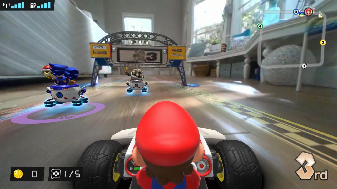 Mario Kart Live: Home Circuit screenshots provided by Nintendo