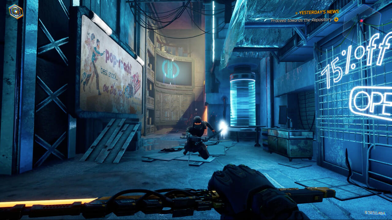 Ghostrunner captured on PC