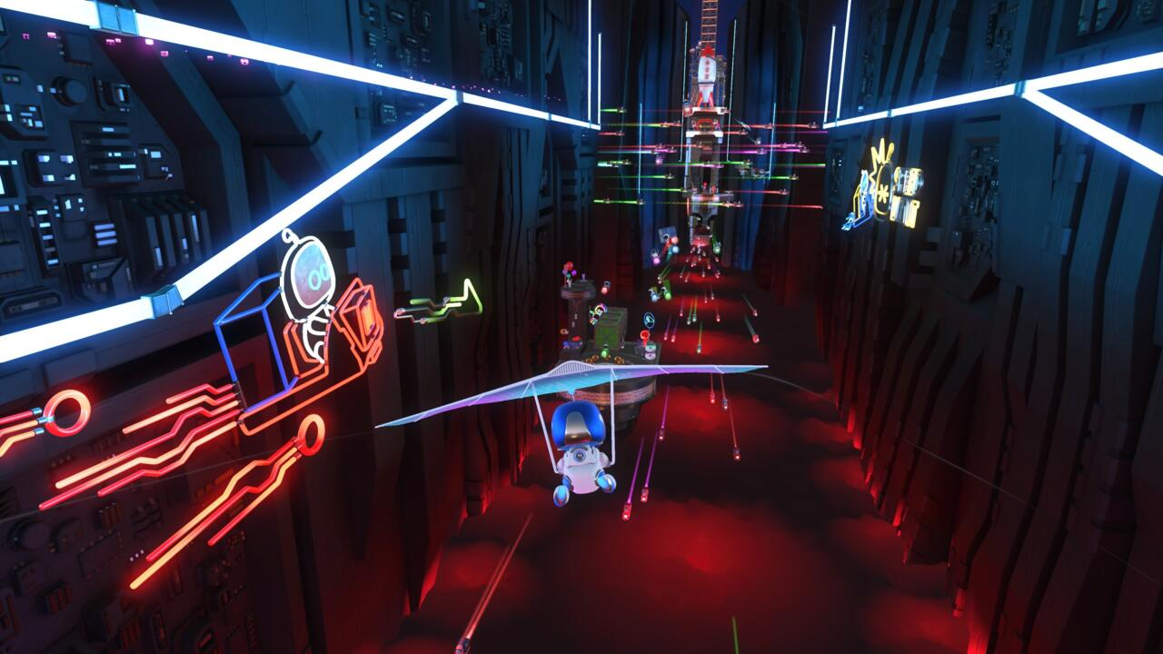 Astro's Playroom comes pre-installed on PS5.