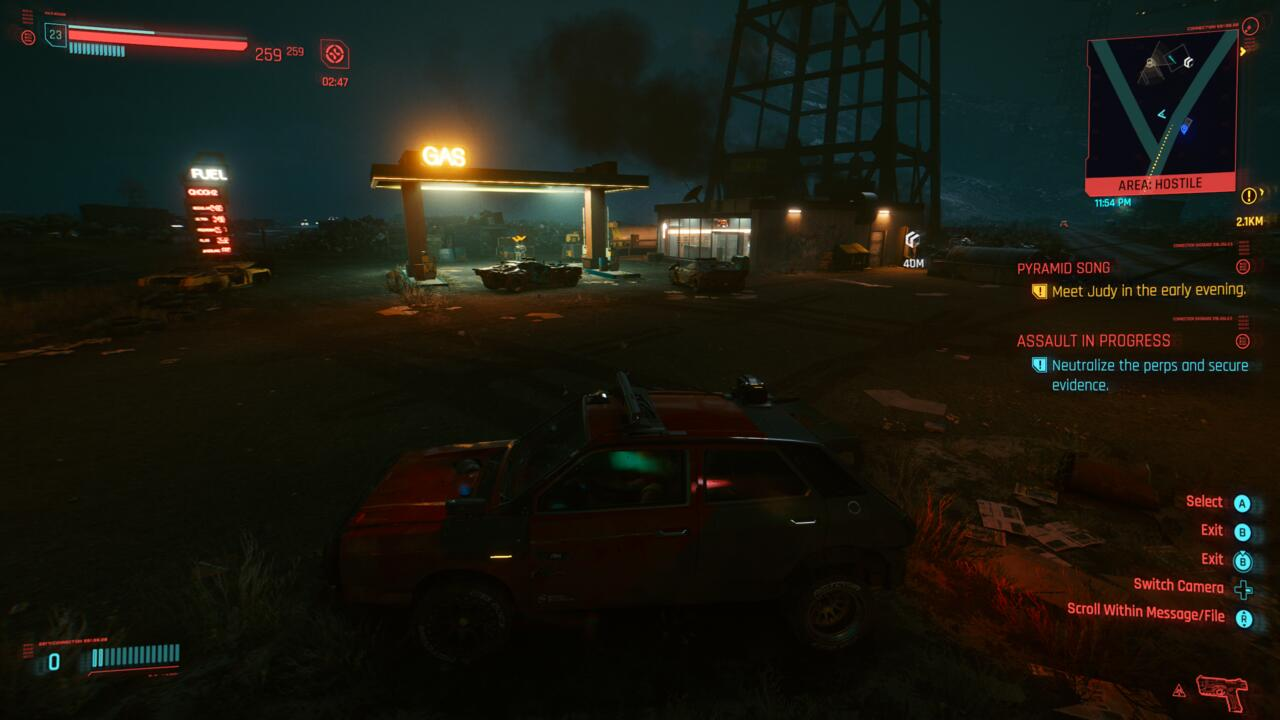 You can buy much nicer cars in Cyberpunk 2077, but all of them get you where you're goin'.