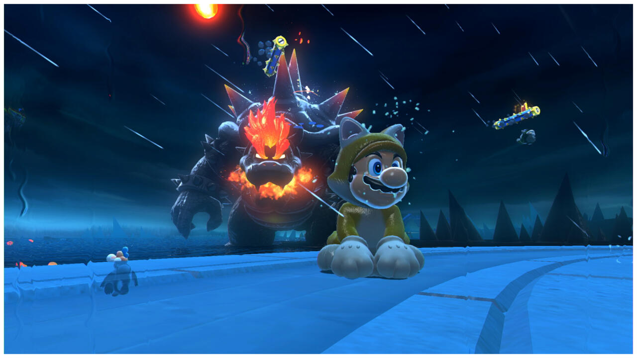 Playing with scale in Bowser's Fury