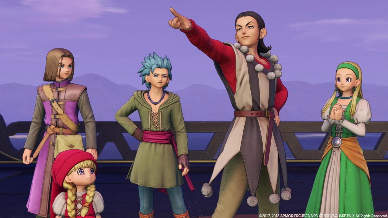 Dragon Quest XI: Echoes of an Elusive Age -- Matt Espineli, Editor