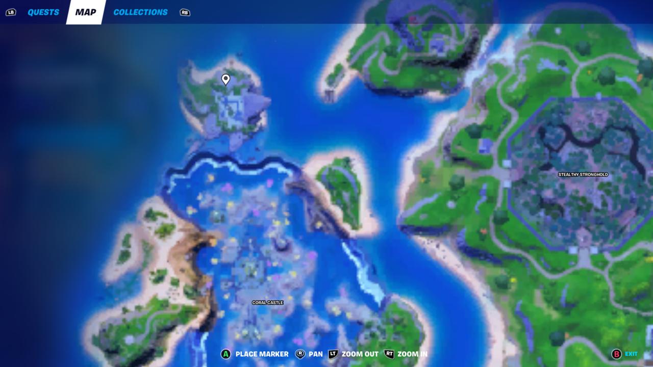 Shark Island location