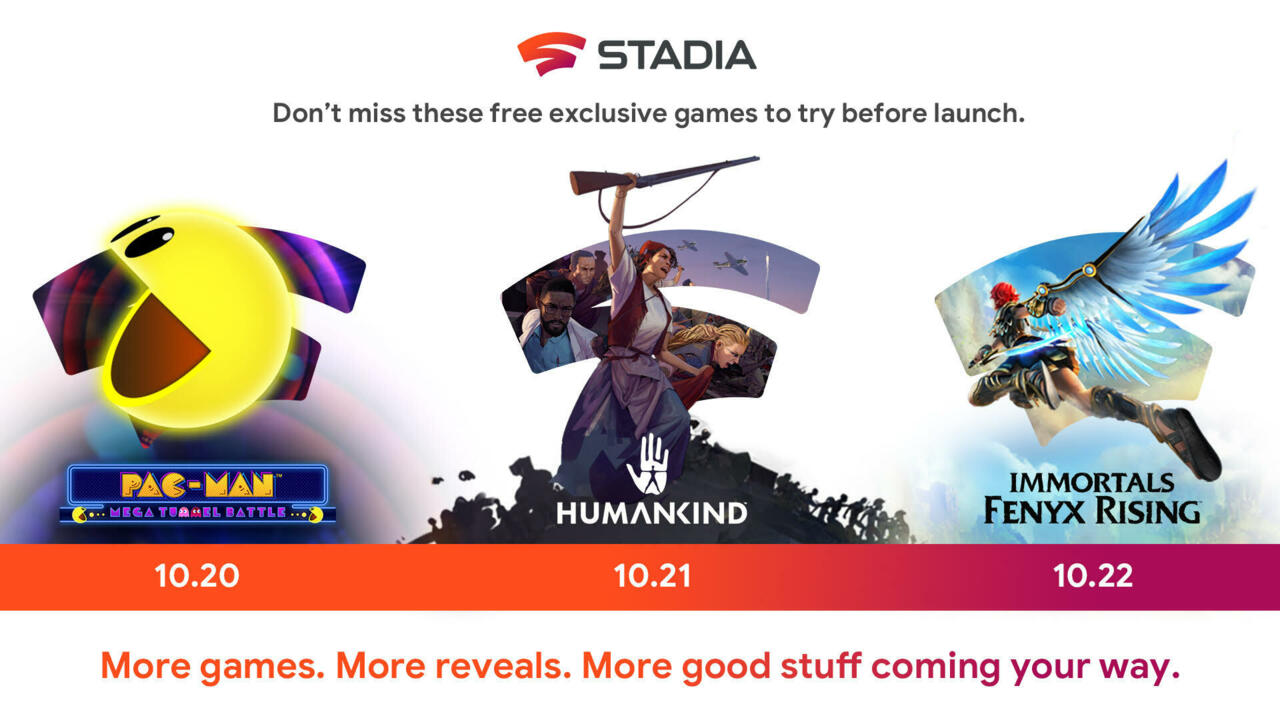 These demos will be live for one week on Google Stadia.