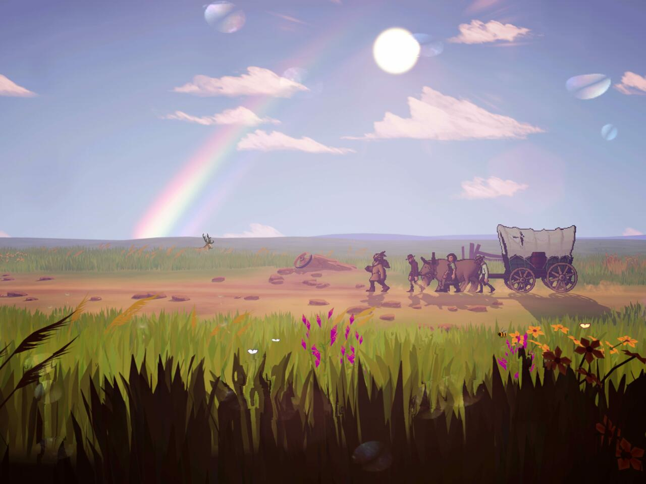 The Oregon Trail also gets a visual overhaul on Apple Arcade.