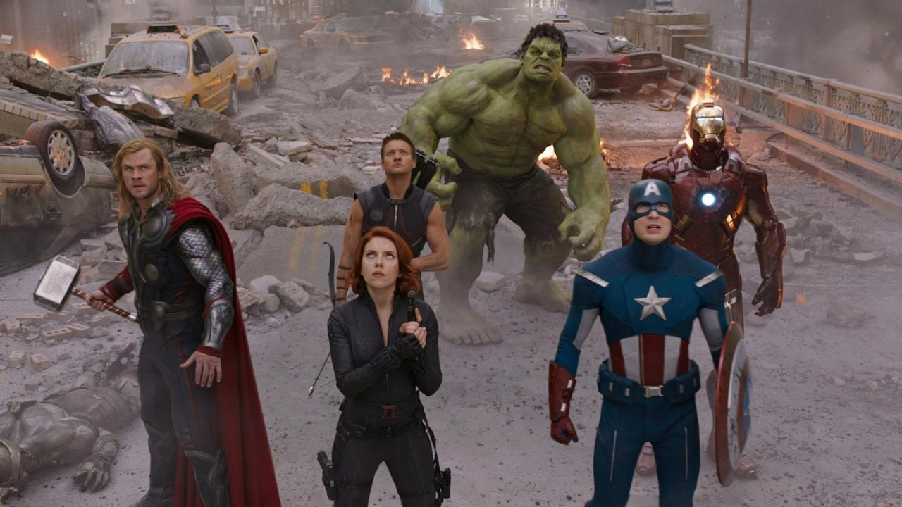 Q: What do the Avengers eat after the Battle of New York in Marvel's The Avengers?