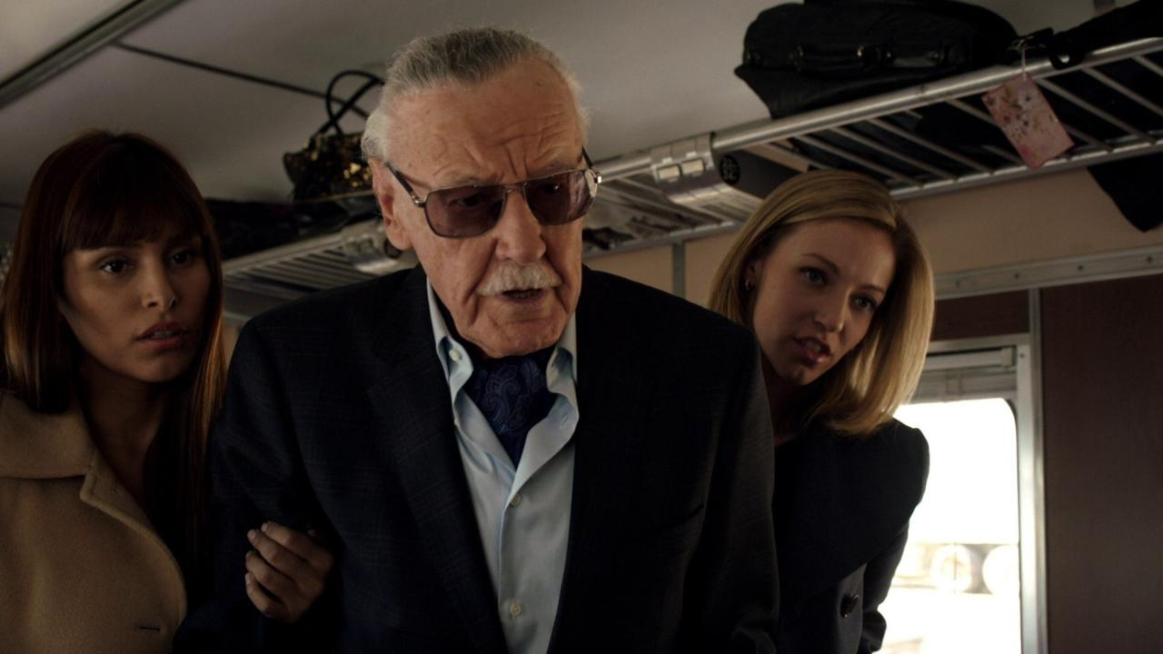 Q: Who did Tony Stark think Stan Lee was during his Iron Man cameo?