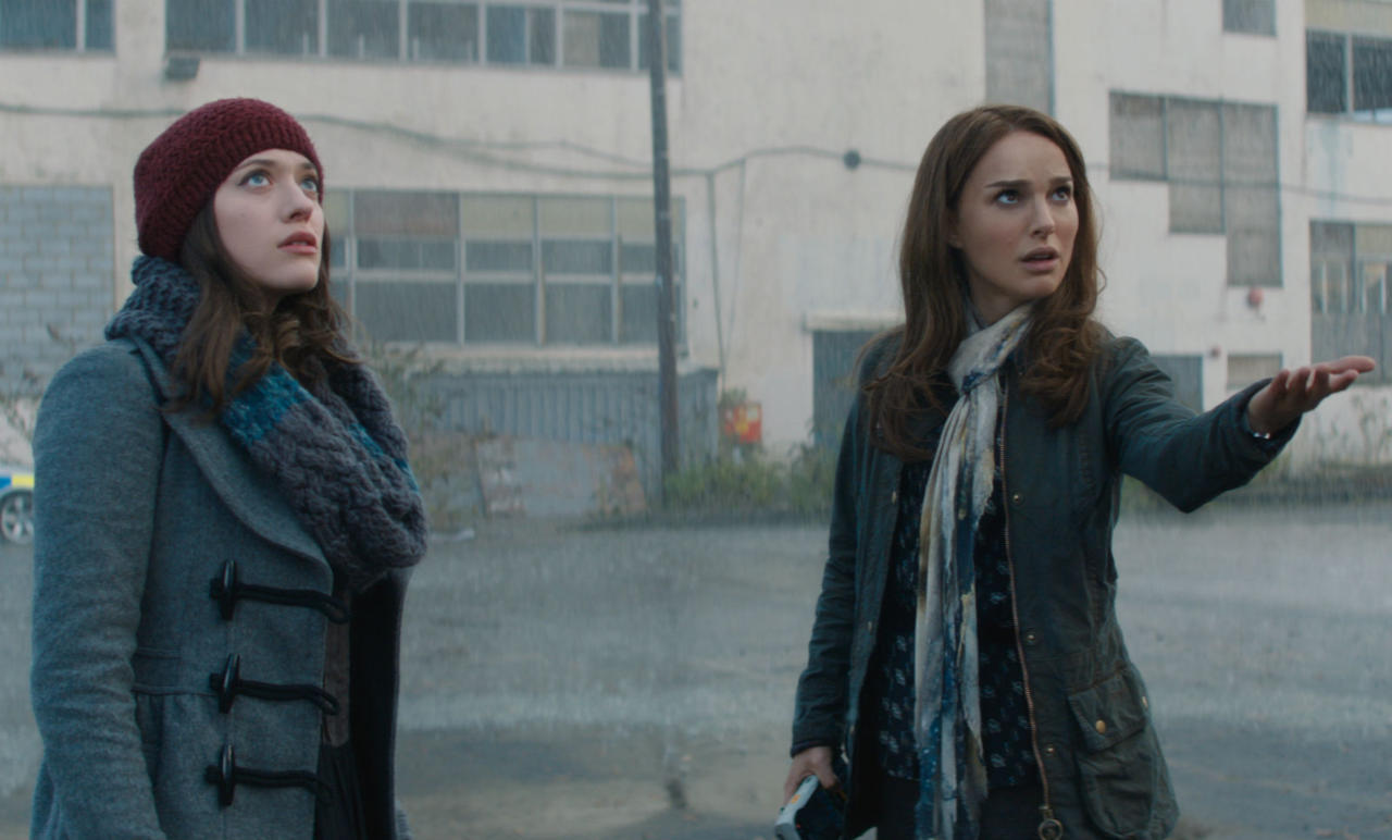 Q: What is the name of Jane's sidekick played by Kat Dennings in Thor?