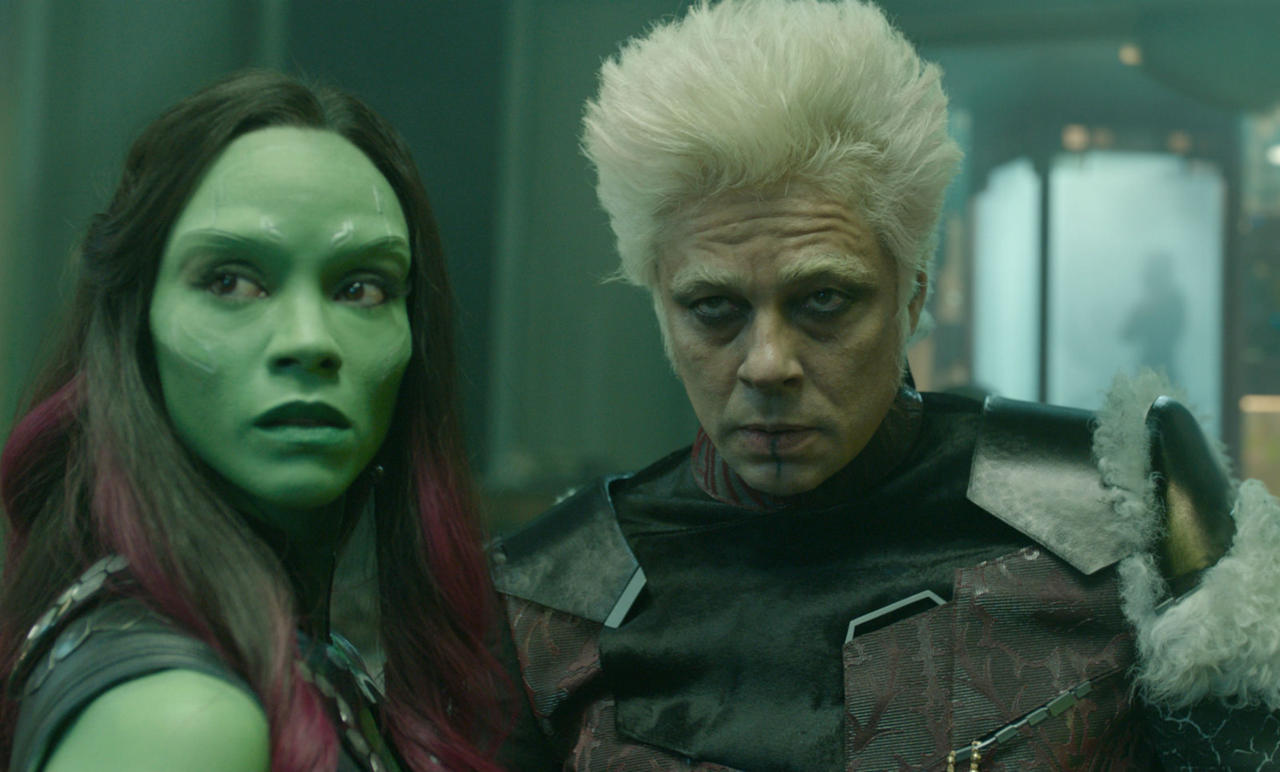 Q: In Guardians of the Galaxy, what is the name of the dog in the Collector Taneleer Tivan's museum?