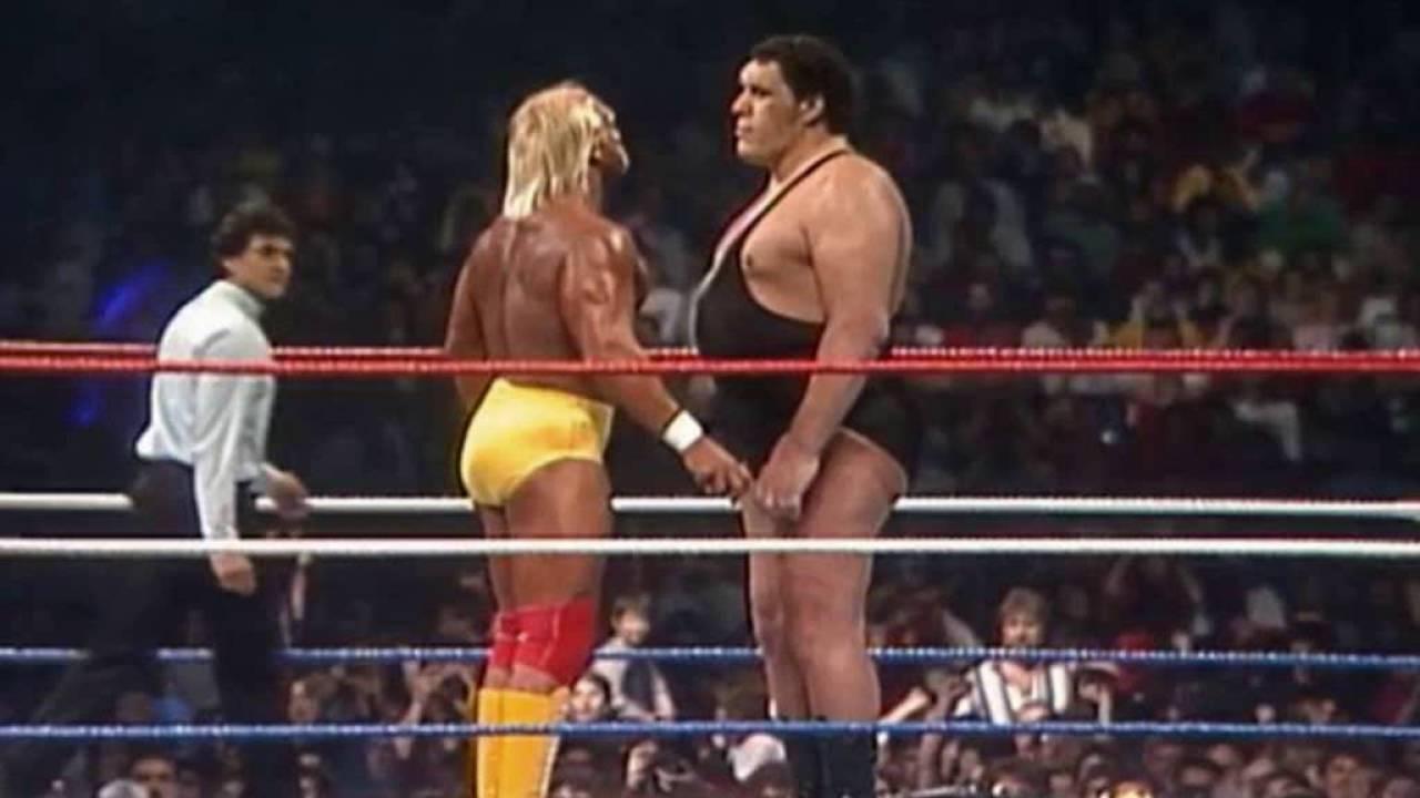 Andre the Giant turns on Hulk Hogan