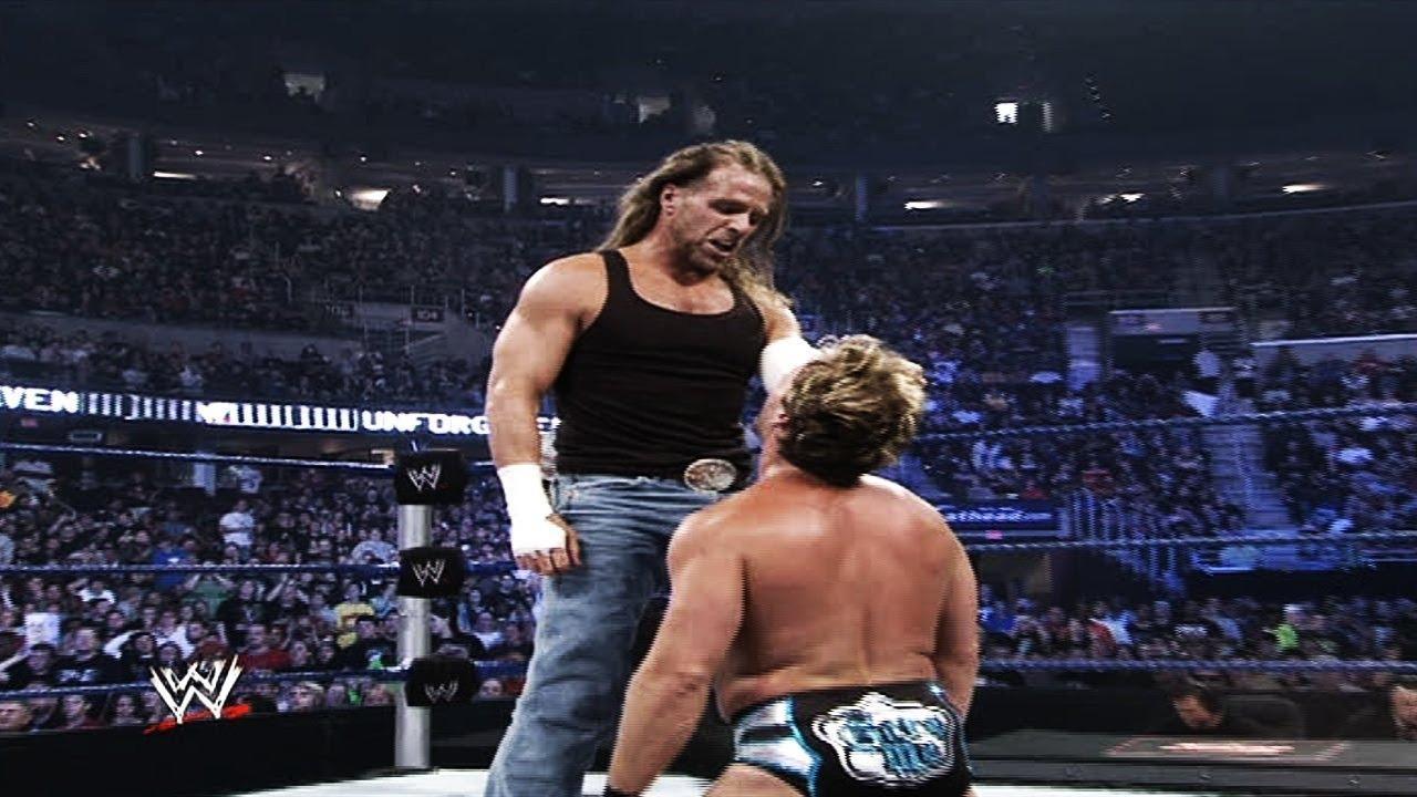 Chris Jericho turns on Shawn Michaels