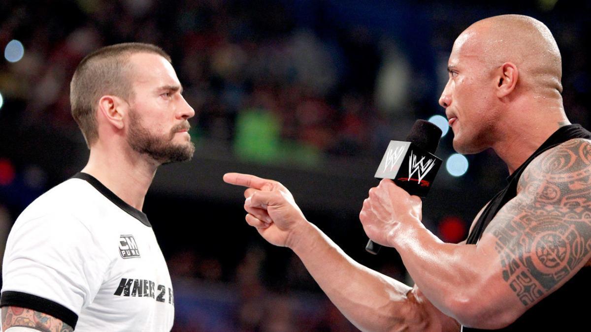 CM Punk turns on The Rock