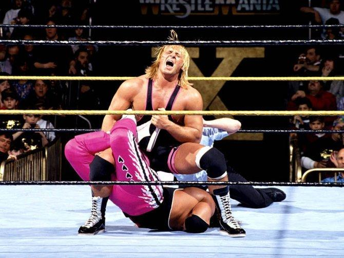 Owens Hart turns on Bret Hart