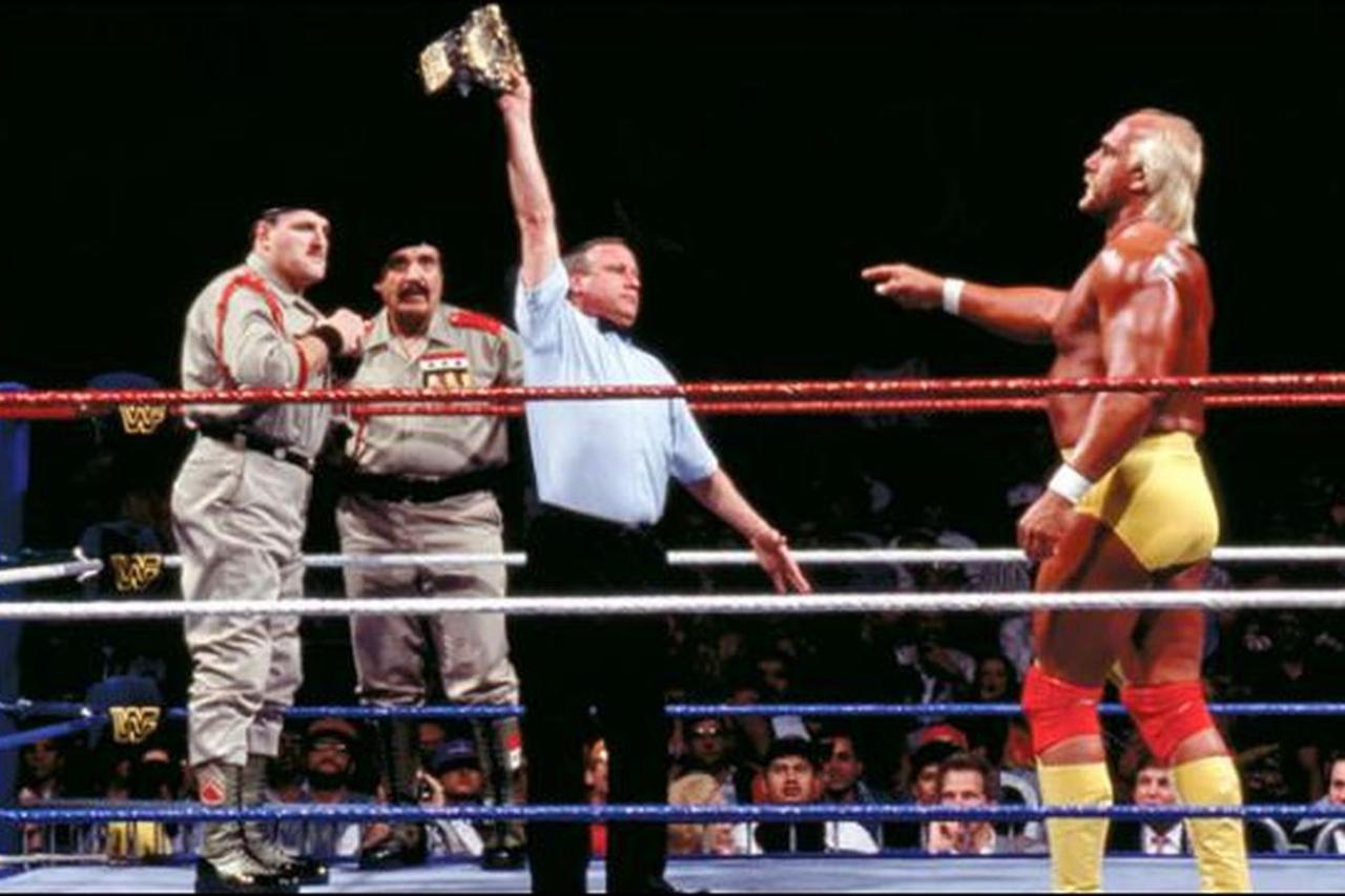 Sgt. Slaughter turns on America