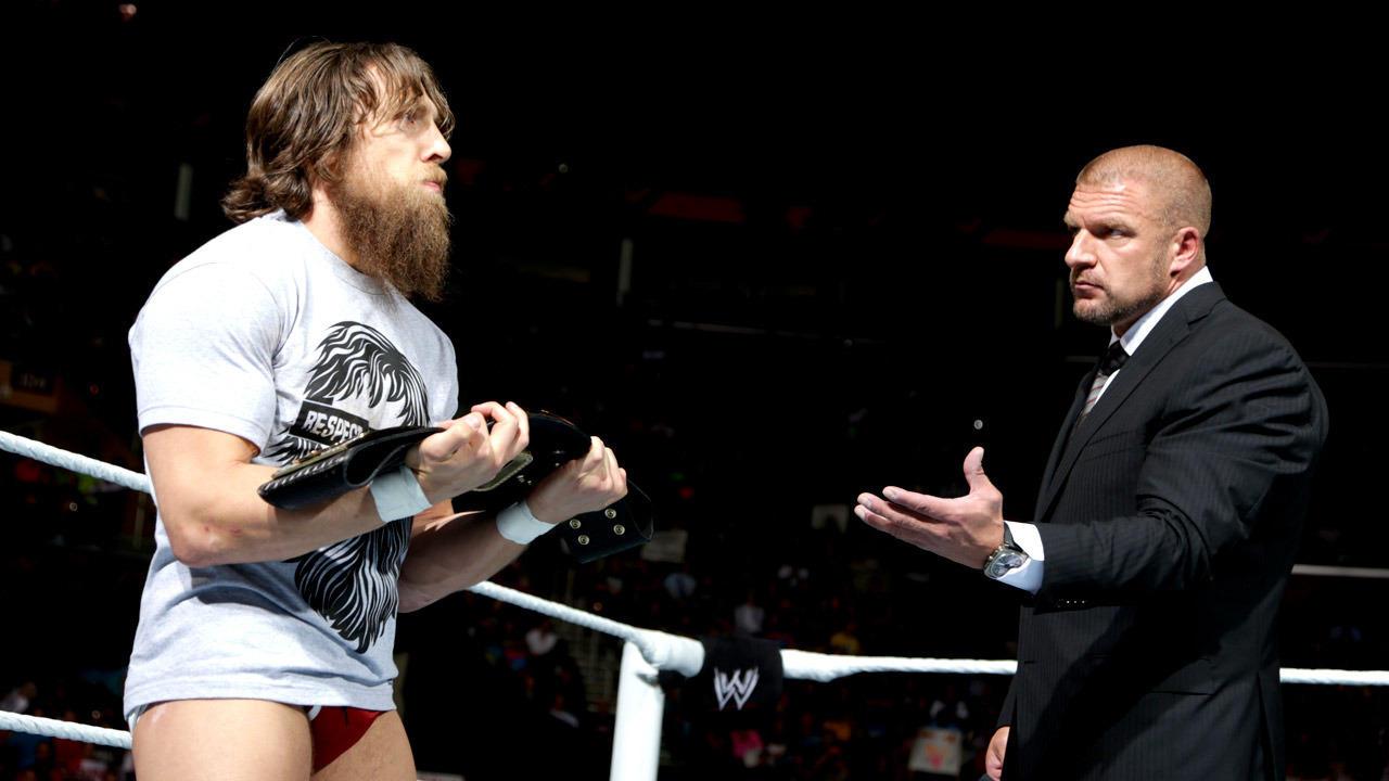 Triple H turns on Daniel Bryan