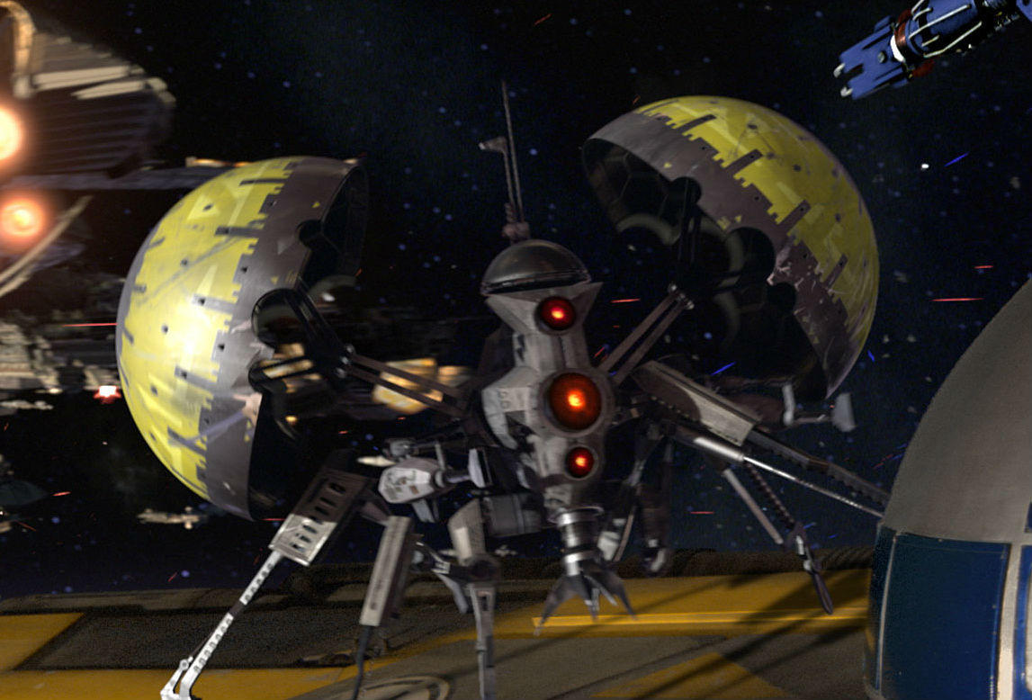 19. Pistoeka sabotage droid