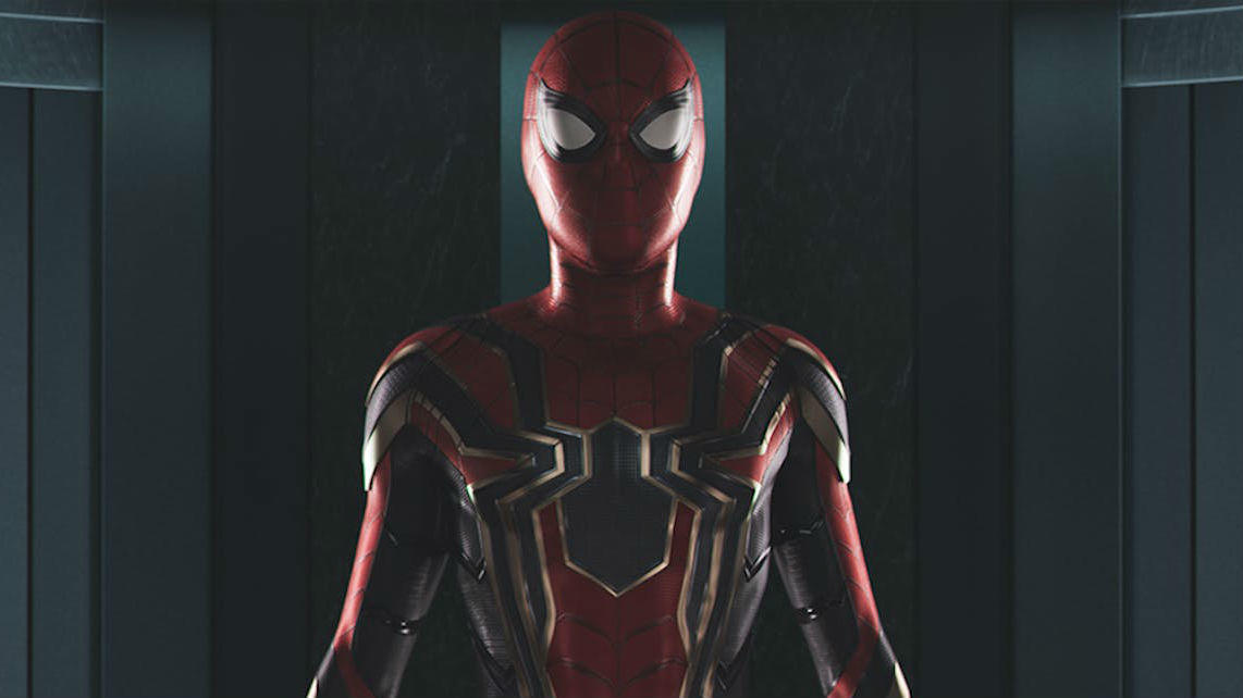 You're the Iron Spider now, like it or not