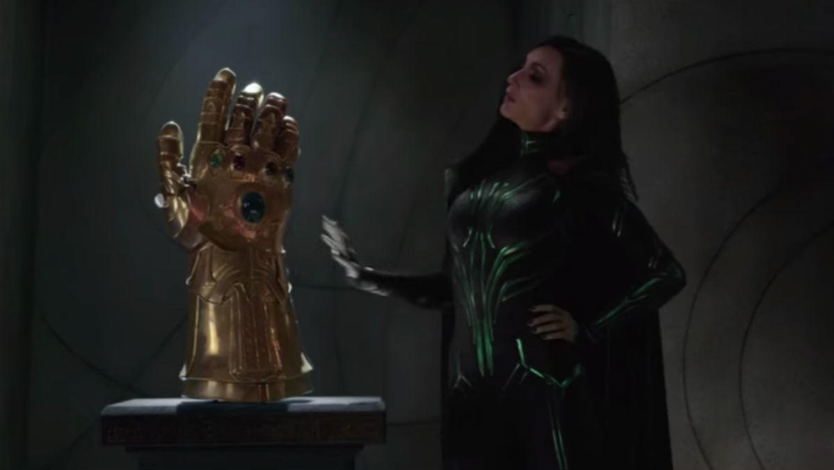 Thor's fake Infinity Gauntlet