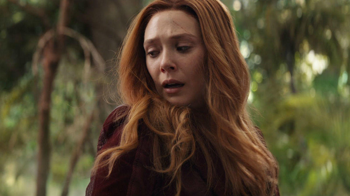 Scarlet Witch's disappearing accent